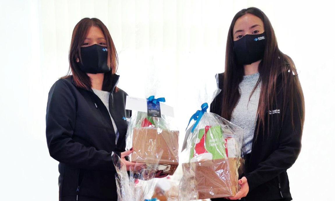 donating of face masks to cyprus fire service