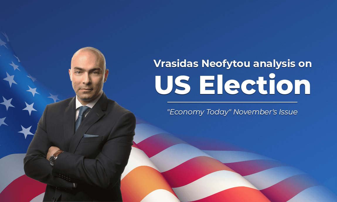 "Vrasidas Neofytou analysis on the US Presidential Election featured in ""Economy Today"" magazine"