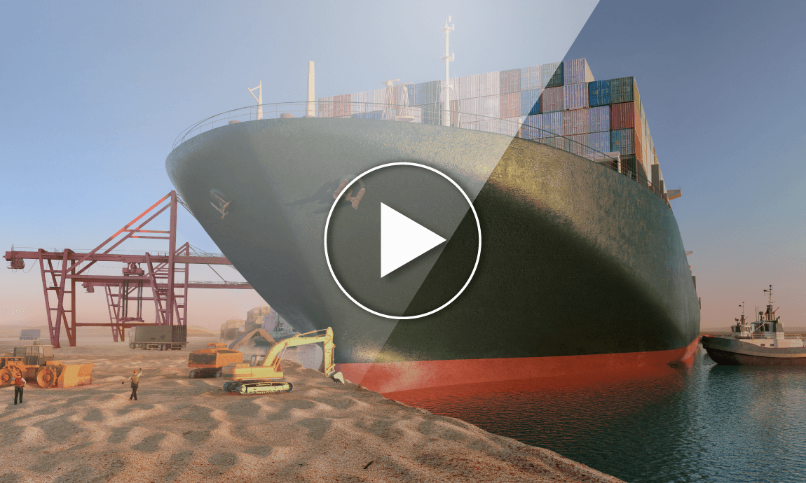 The Suez Canal blockage and its economic consequences