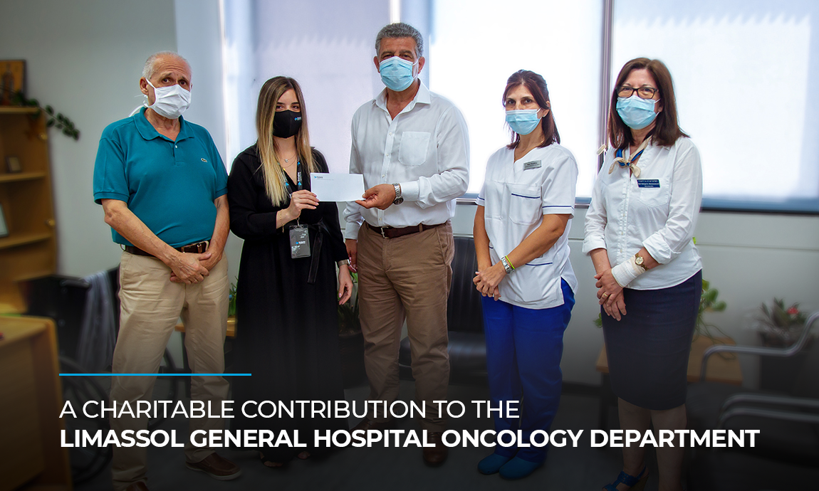 A charitable contribution to the Limassol General Hospital Oncology Department