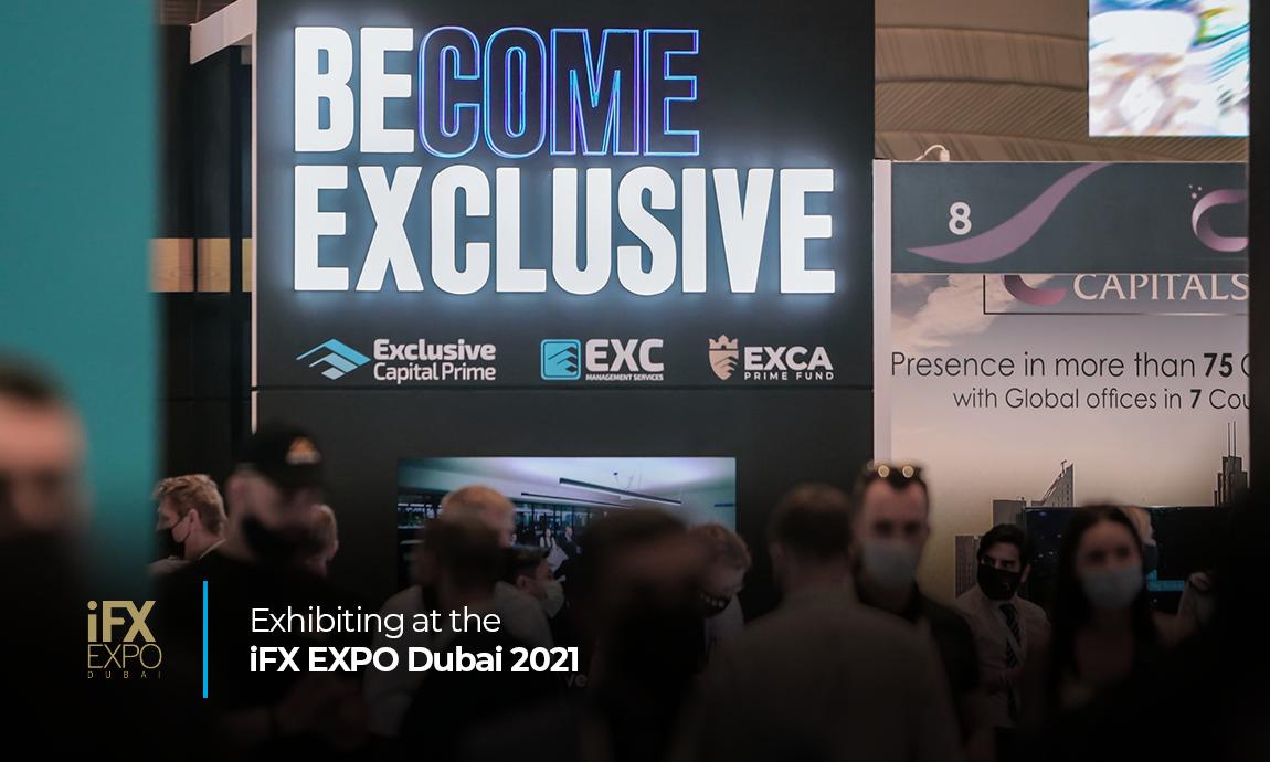 Exhibiting at the iFX EXPO Dubai 2021